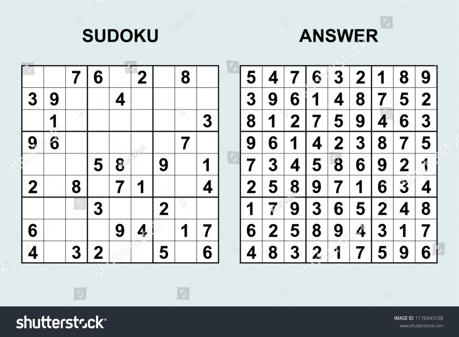 Printable Sudoku Puzzlesprintable Worksheets The Teacher S