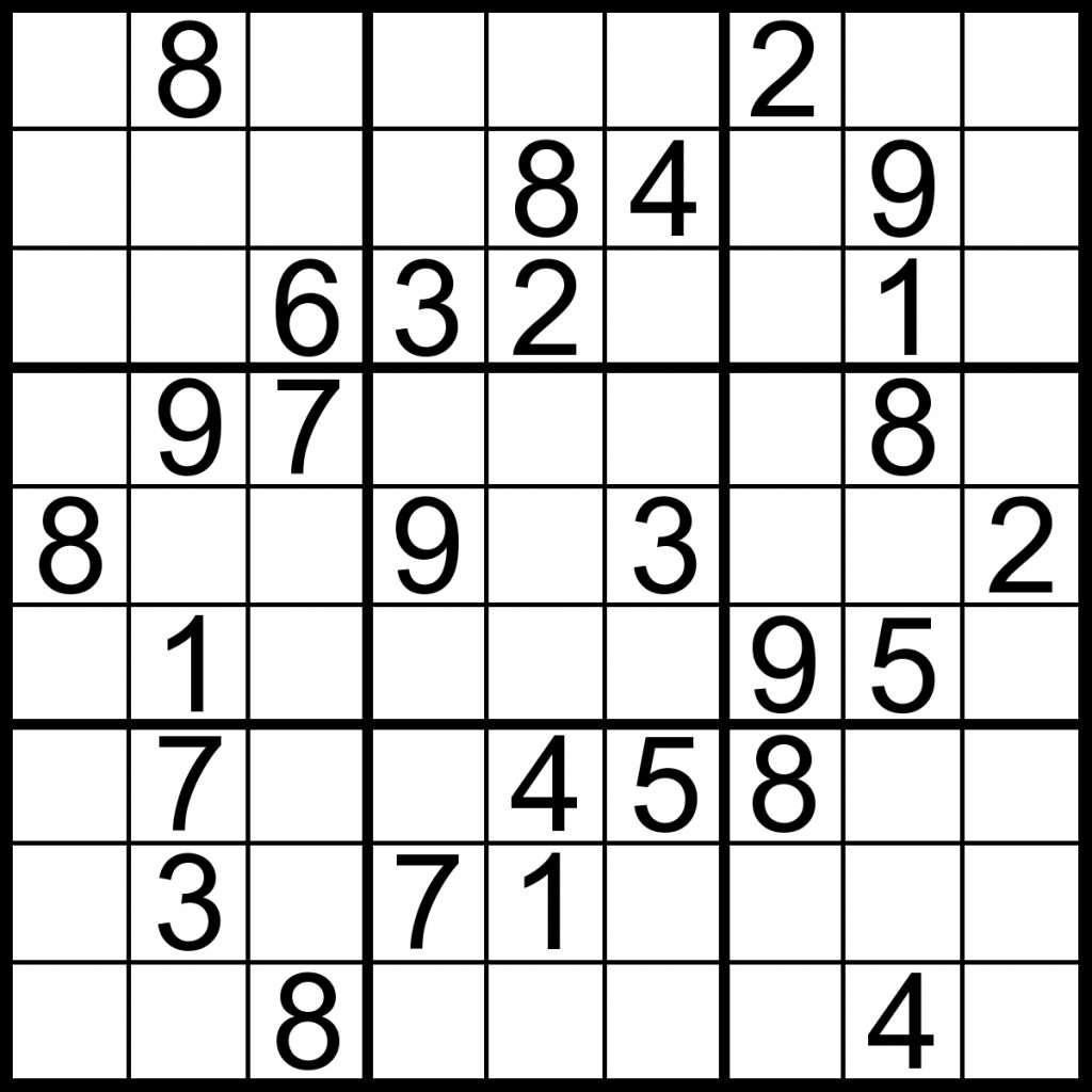 Easy Sudoku Worksheets