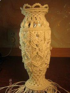 Как из бутылки из под вина сделать вазу: Ваза из бутылки ...