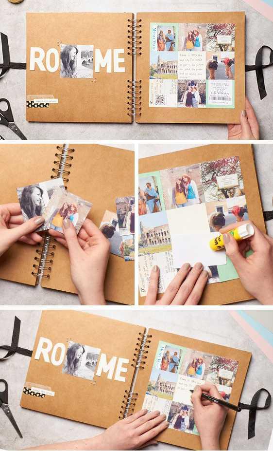 Как оформить альбом красиво – Фотоальбом своими руками ...