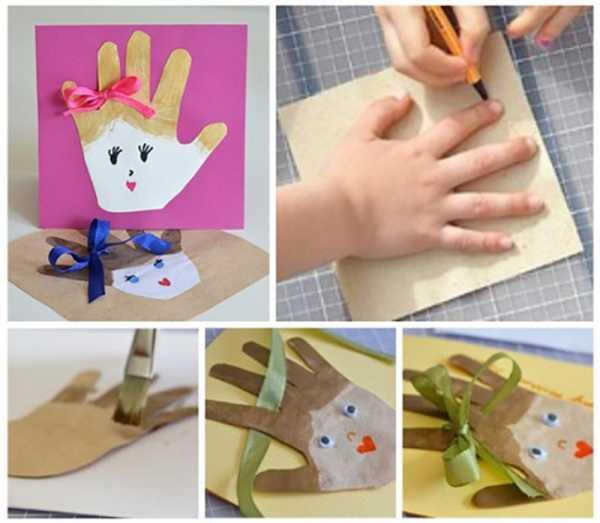 Как сделать поделку на день рождения своими руками маме ...