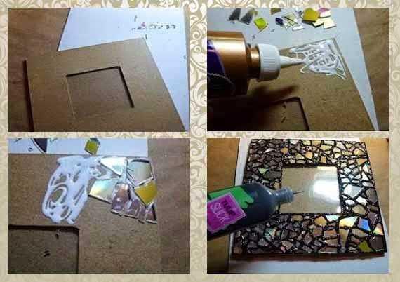 Как сделать рамку для фото своими руками в домашних ...