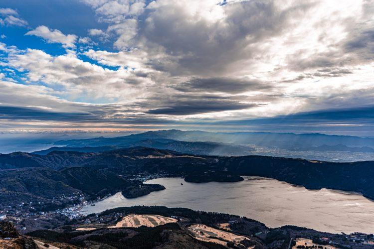 Lake Ashi, Hakone, Japan  Awesome sky with a wonderful view
