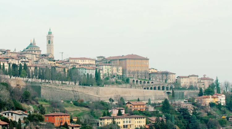 Bergamo, Italy Chitta alta