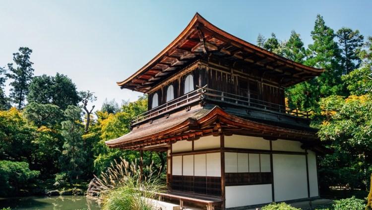 Silver pavilion, Ginkakuji Kyoto Japan