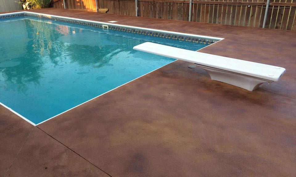 Pool Deck Concrete Sealing