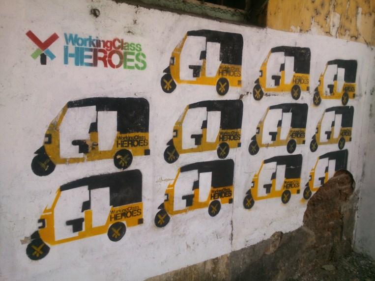 rickshaws ..kochi biennale pic