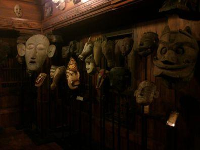 old art form masks