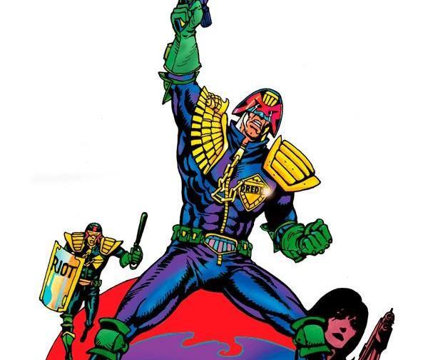 Оригинальная обложка комикса судья дредд 015 (IDW)