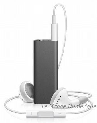 Troisième génération iPod shuffle