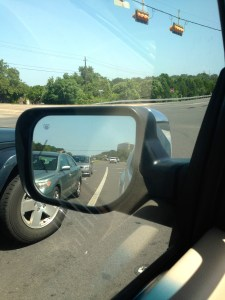 Rearview moments reflect the goodness of God