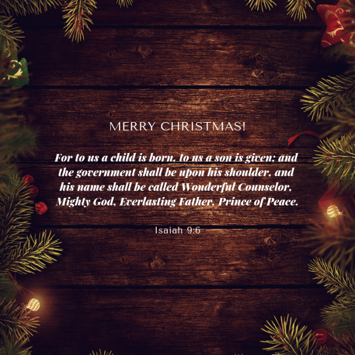 #Christmas #Jesus #sueaallen #blog #Isaiah #prophecy #God #wonderful #counselor #MightyGod #everlastingfather #princeofpeace #holidays #blessed #season #reason #Savior #Emmanuel #grateful