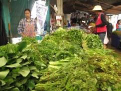 Herbs on sale, Bangkok market tour