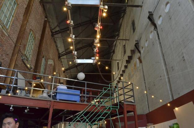 Inside one of the lofts