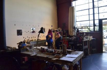 Jewelry maker's loft