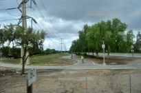 We have great bike paths in the area