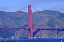 Clear view of Golden Gate Bridge