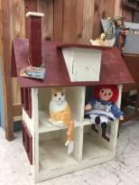 Handmade Vintage Doll House