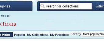 Firefox Collections and Social Networking