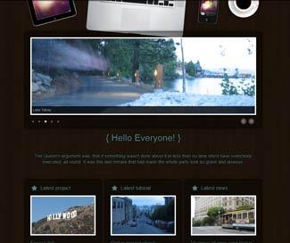 RocketWood WP Photo Theme