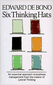 6 Thinking Hats Book Edward De Bono
