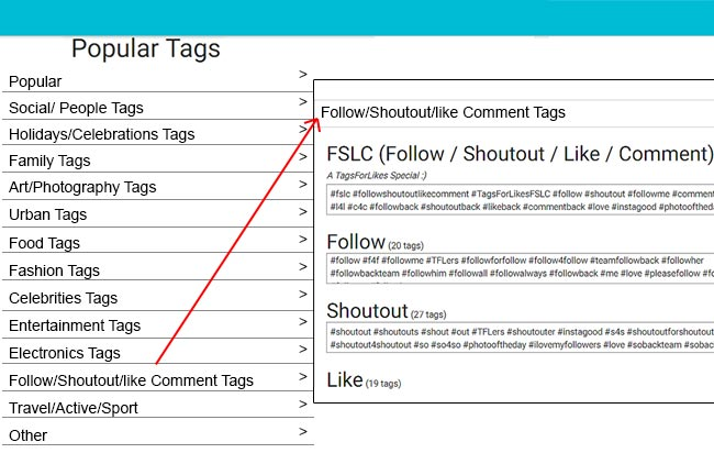 Instamate Instagram for web - Hashtag Search