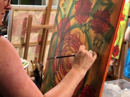 Paint for healing… and fun!