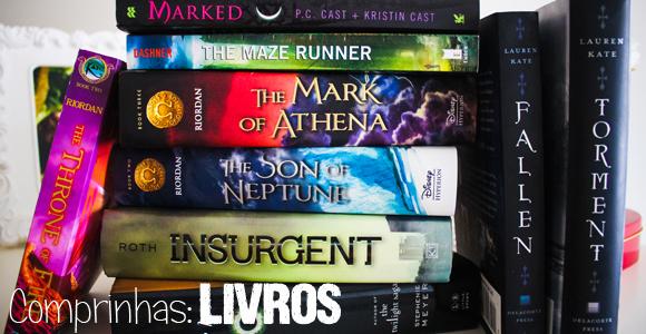 TV #SB Comprinhas – Livros [Outubro 2012]