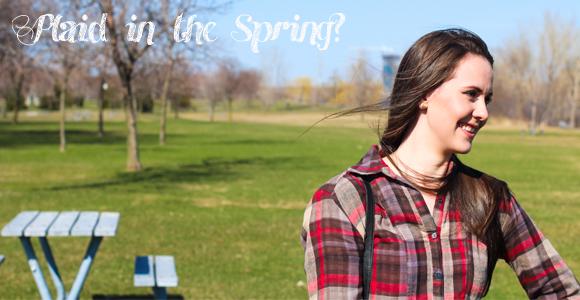Look da Sue:: Plaid in the Spring?
