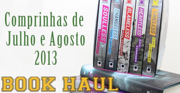 TV #SB Book Haul:: Setembro de 2013