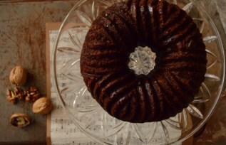 Irish Date Cake View from Above