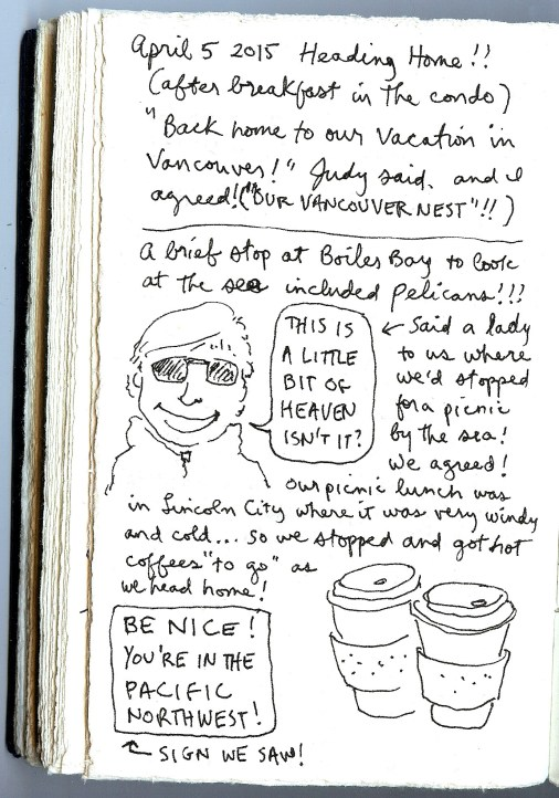 "page from ""my oregon coast sketchbook"""
