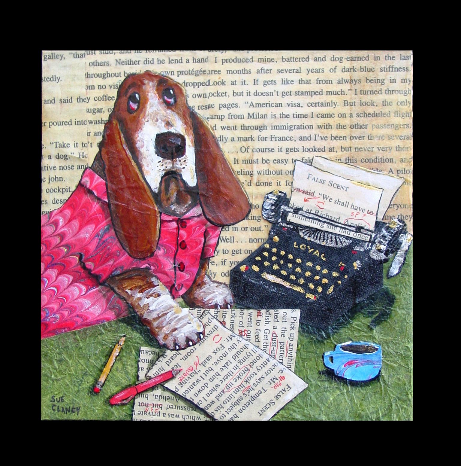 Pup Fiction Writer