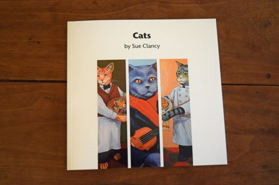 "Front Cover of ""Cats by Sue Clancy"""