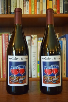 wine label artwork by Clancy - wine created by Burnt Bridge Cellars http://www.burntbridgecellars.com/