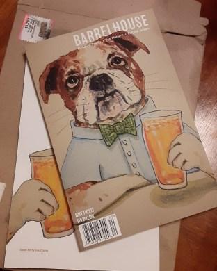 Cover Art for Barrelhouse magazine issue 20 - by Clancy - https://www.barrelhousemag.com/