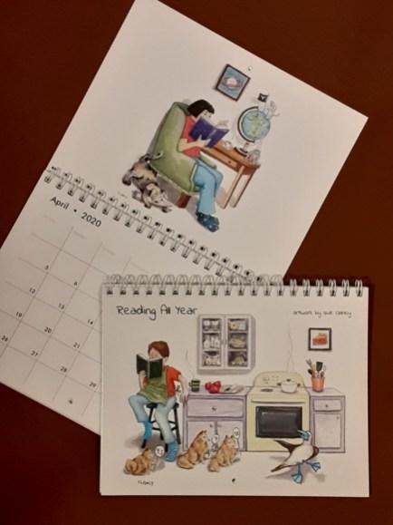 Reading All Year 202 calendar - by Clancy - https://www.zazzle.com/reading_all_year_calendar-158568863164512508