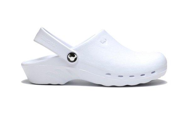 Oden Klompe bele papuce -BELE Suecos klompe (3)