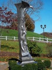 Pilgrim Sculpture