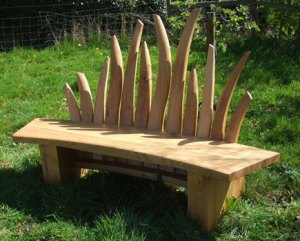 Meadow Bench by Sue Darlison