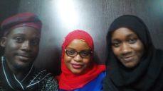 Su'eddie, Halima Aliyu and Nana Sule