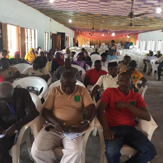 A Cross Section of Participants at the beginning of the second day.
