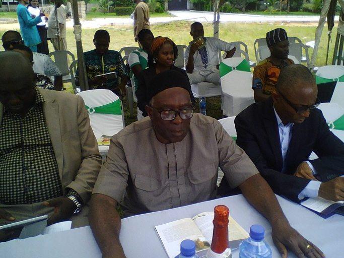 Professor J. O. J Nwachukwu-Agbada (Chairman of the Occassion)