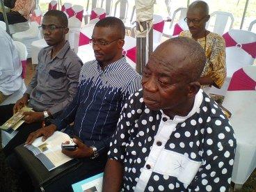 Usman Nurain Muhammad (ANA Gombe), Thompson Abutu (ANA Kogi) and John Sarpong (ANA Ghana! :) )