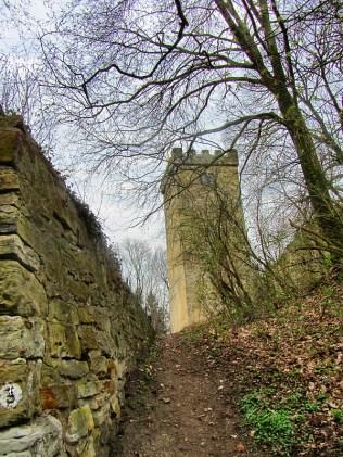Aufstieg zur Wohldenburg