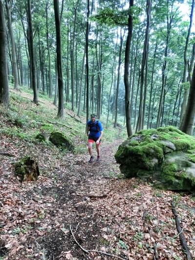 Aufstieg zum Ith Trail