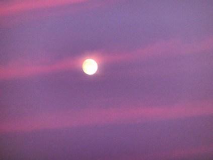Das ist der Mond !