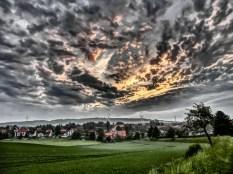 Almstedt Morgens um halb 6