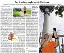 Griesberglauf - HAZ 27.08.2014