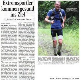 Süntel-Trail - NDZ 30.07.2014